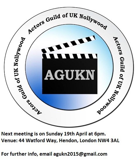 AGUKN Meeting 19th April 2015