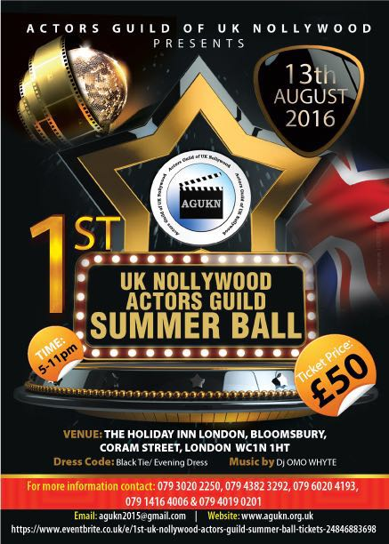 AGUKN Summer Ball 2016 Flyer